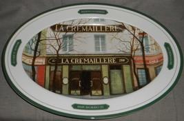 Williams Sonoma La Cremaillere Les Bistro Pattern Large Meat Or Turkey Platter - $79.19