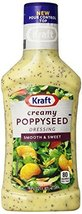 Kraft Creamy Poppy Seed Dressing & Dip, 16-Ounce Plastic Bottles (Pack o... - $32.55