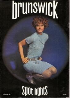 Brunswick Spot Lights Volume 684 1972 Knit & Crochet Fashion Patterns Vintage