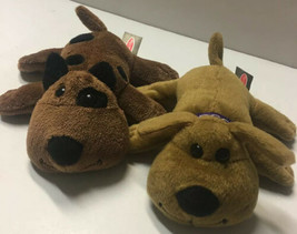 "Melissa & Doug COCOA & BANDIT 6"" Brown Puppy Dogs Plush Bundle Stuffed Animals - $13.12"