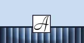 Monogram Blue Stripes Checkbook Holder - $6.50