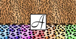 Monogram Cheetah Print Checkbook Holder - $6.50