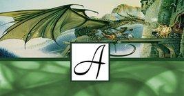 Monogram Dragon Checkbook Holder - $6.50