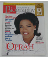 Biography Magazine March 1999 Opra Winfrey Cover, Oscar Issue - $6.50