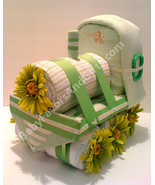 Choo Choo Train Diaper Cake - see more colors - $102.00