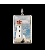 Peggy's Cove Lighthouse Photograph Pendant by KVW - $19.99