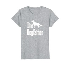 The Dogfather t-shirt German Shepherd silhouette funny dog - $19.99+