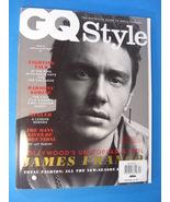 GQ Style JAMES FRANCO Cover (U.K) 2011 spring /summer - $6.95