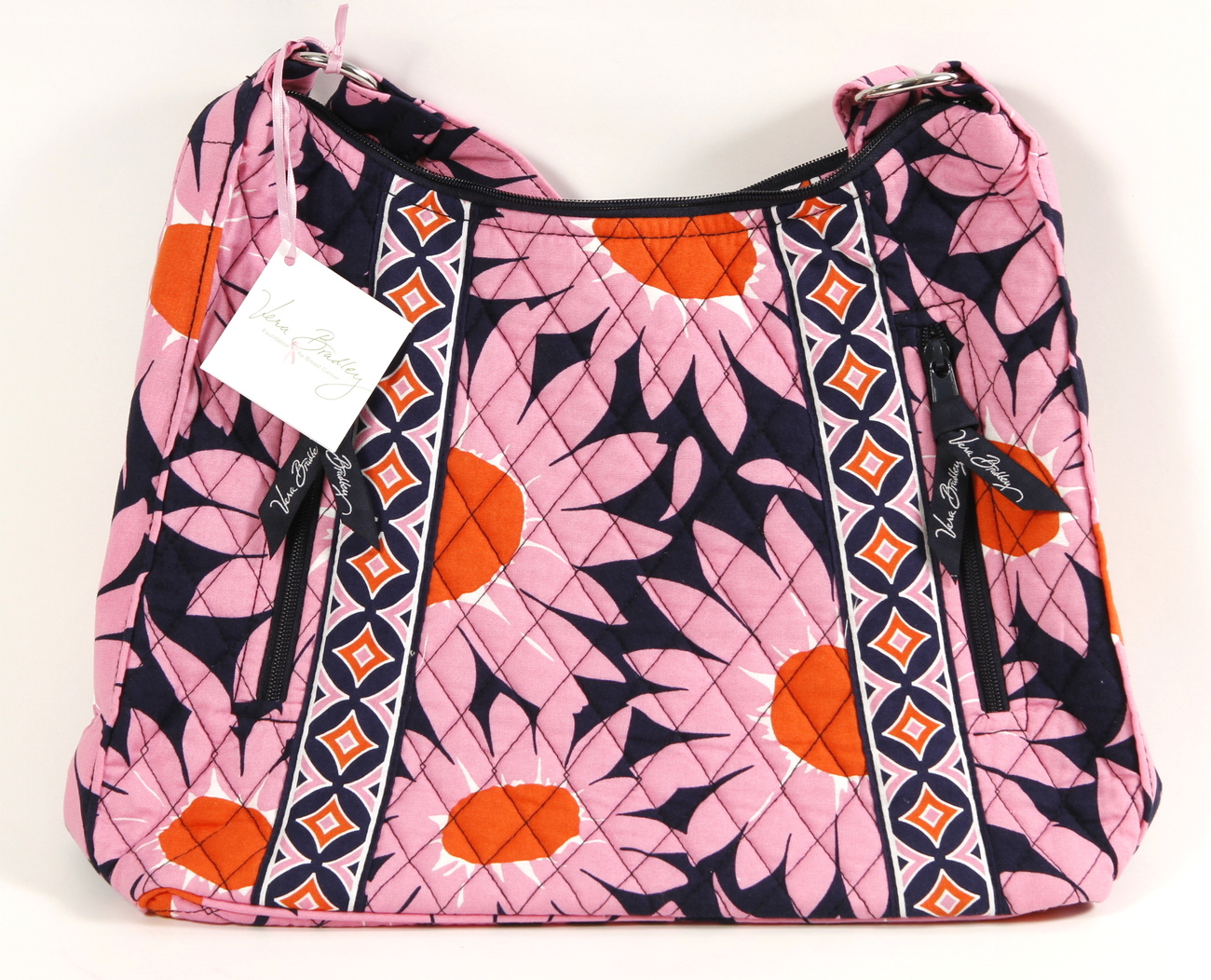 Primary image for Vera Bradley Lisa B Shoulder Bag Loves Me NWT