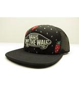 "VANS ""Off The Wall"" Beach Girl Strawberry Mesh Snap Back Trucker Hat New... - $23.72"