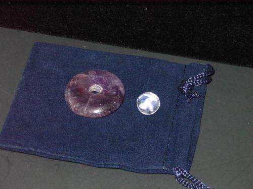 Circular Crystal Energy Grid - Purple Base