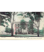 Davenport Library Bath New York Vintage Tinted Post Card - $6.00