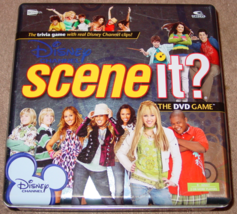 Scene It Dvd Game Disney Channel Tin Screenlife 2008 Kohls Complete Excellent - $20.00