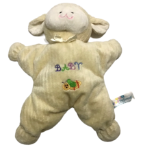 "Kids Preferred Cream Lamb Baby 12"" Plush Toy Lovey Security Plushie Lovi... - $79.19"