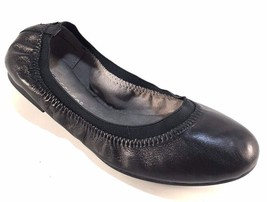 Aerosoles Fable Black Leather Round Toe Ballet Flats - $64.00
