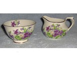 Devon violets sutherland english bone china sugar and creamer thumb155 crop