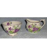 Sutherland English Bone China Sugar Bowl and Cr... - $29.99