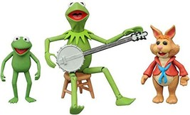 Diamond Select Toys The Muppets: Kermit, Bean & Robin Series 1 Action Fi... - $20.75