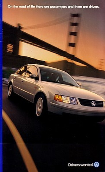 1998 VOLKSWAGEN full line US brochure catalog 98 GTI GOLF JETTA CABRIO VW