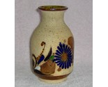 Hand crafted one of a kind flowered clay vase 1 thumb155 crop