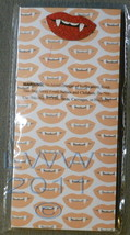 Vampire Fang Lips 80 Sheet Magnetic List Grocery Pad in Package - $3.99