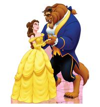 Belle & Beast Beauty Disney Cardboard Standup Cutout New Licensed 785 - $39.95