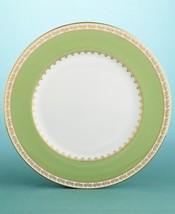 Martha Stewart Wedgwood GARLAND MOSS ACCENT PLATE MADE IN ENGLAND BONE C... - $39.90