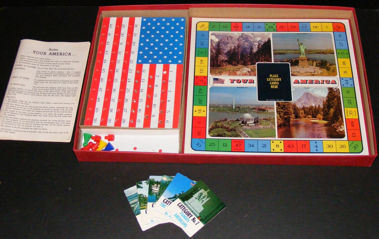 1975 Your America Board Game