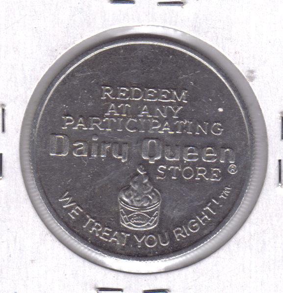 Dairy queen token