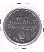 DAIRY QUEEN Free Sundae / 40 Cents Off  Token - $4.25