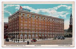 1932 The Berkshire Hotel Reading PA Advertisement RARE Postcard Early Vi... - $15.83