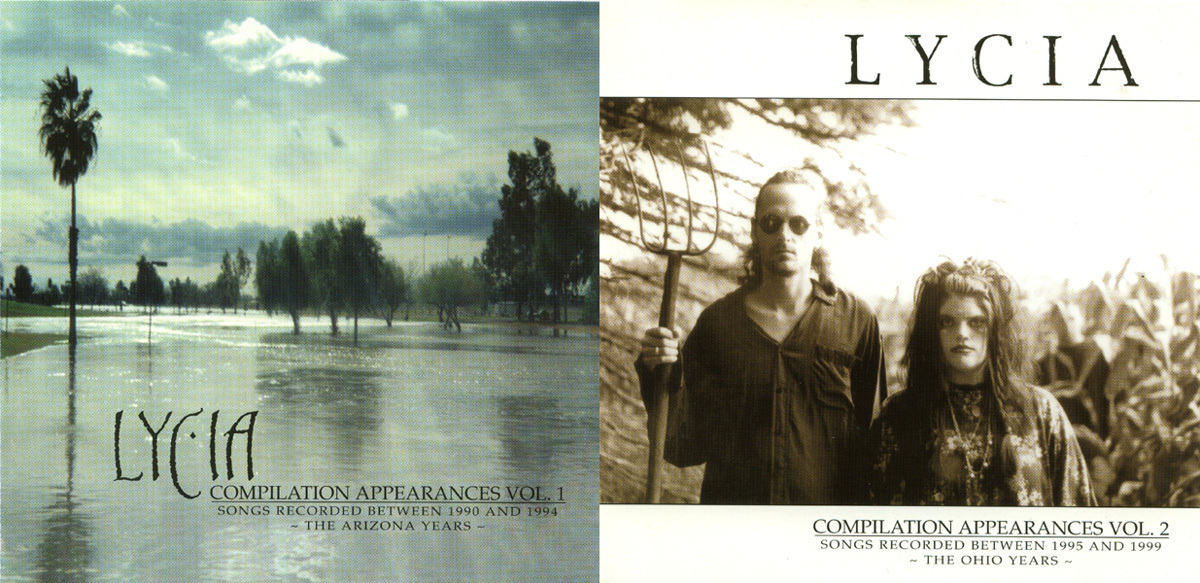 Lycia - Compilation Appearances Vol. 1 & 2 Two CDs