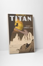"""Rock Climbing On Titan by Steve Thomas Gallery Wrapped Canvas 20""""x30"""" - $53.41"""