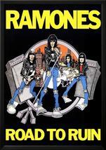 Ramones Road to Ruin Music Poster Print Lamina Framed Poster - 37.75 x 2... - $59.95