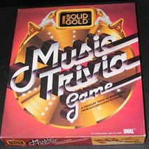 1984 Solid Gold Music Trivia Game - $20.70