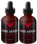 2 Absonutrix Deer Antler Maximum Strength 60 ml bottle stamina strength - $24.99