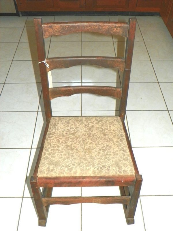 Primary image for ANTIQUE L & J G STICKLEY ROCKING CHAIR 1912- 1920