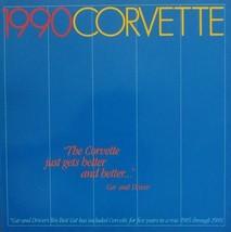 1990 Chevrolet CORVETTE sales brochure catalog 90 Chevy - $12.00