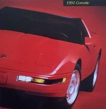 1991 Chevrolet CORVETTE sales brochure catalog 91 Chevy - $10.00