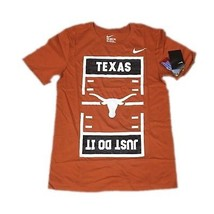 NEW NWT Texas Longhorns Football Nike Men's Just Do It Shirt Small - €18,13 EUR
