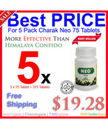 5x Charak Neo 75Tab For Sexual Dysfunction More Potent Than Himalaya Con... - $19.28