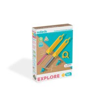 MAKEDO EXPLORE - 50 Piece Kids' Cardboard Construction Starter Toolbox, Ages 7+ - $34.99