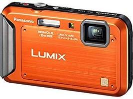 Panasonic Lumix TS20 16.1 MP TOUGH Waterproof Digital Camera, Orange - $149.95