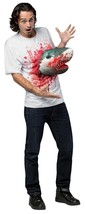 Sharknado Costume Shirt Adult Men Women 3D Attacks Bloody Gory Halloween GC3693 - $52.99