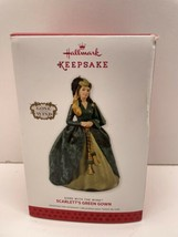2013 Hallmark Scarlett's Green Gown Ornament Gone With The Wind Rhett Butler New - $14.80