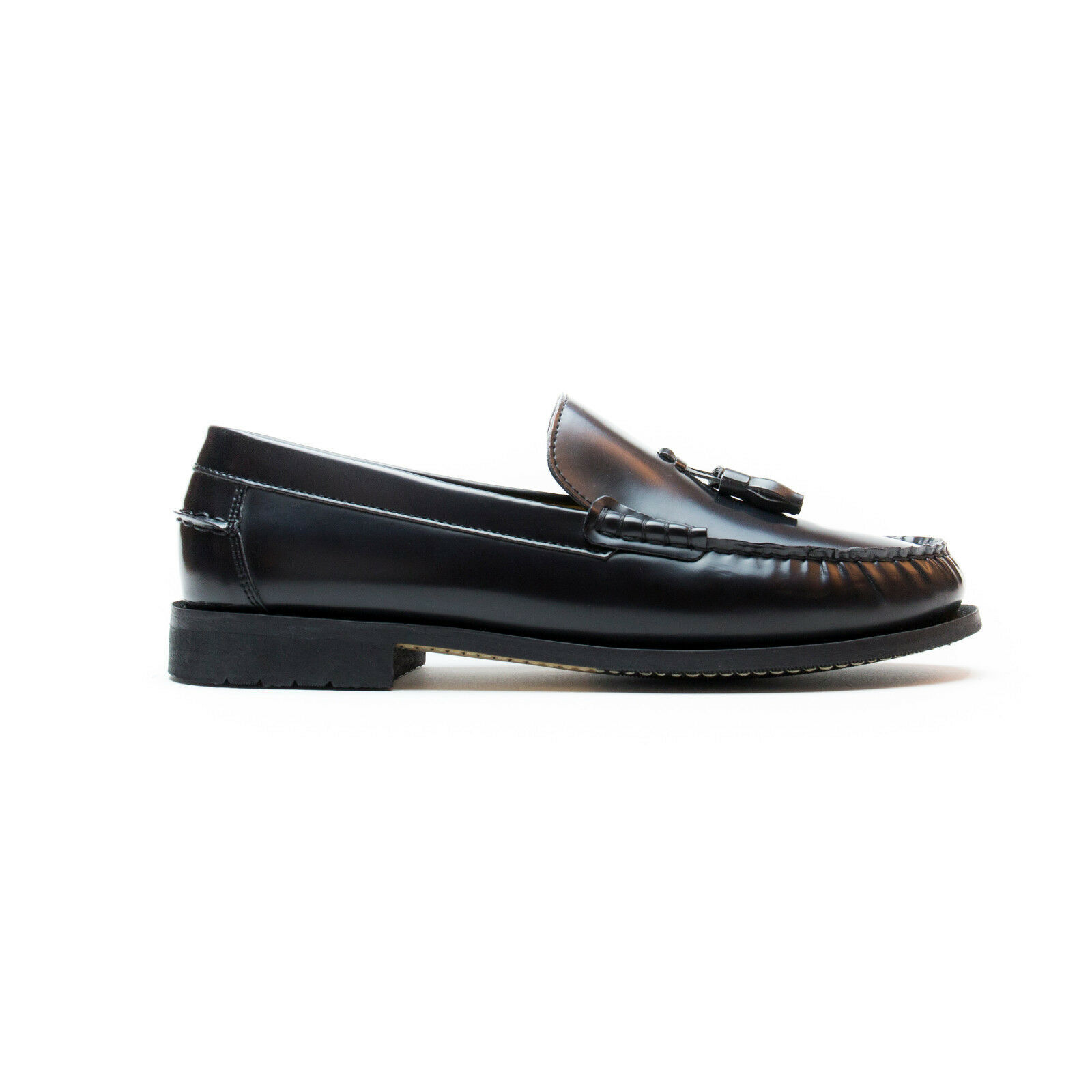 Primary image for Man vegan shoes tassle loafer moccasin on ecological & breathable microfiber