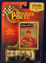 1:64 Winners Circle Jeff Gordon - 1997 Lifetime Series 5 of 6 '91 Caroli... - $4.70