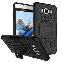 Layer Hybrid Kickstand Shockproof Case For Samsung Galaxy J5 (2016) - Bl... - $4.99