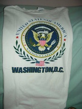 United State Of America Nation's Capital Washington, D.C. Size XL White ... - $24.00