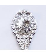 Collector Souvenir Spoon April Birthstone Rhinestone - $4.99